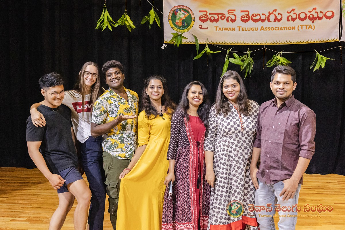 Students celebrate south Indian New Year festival at NSYSU