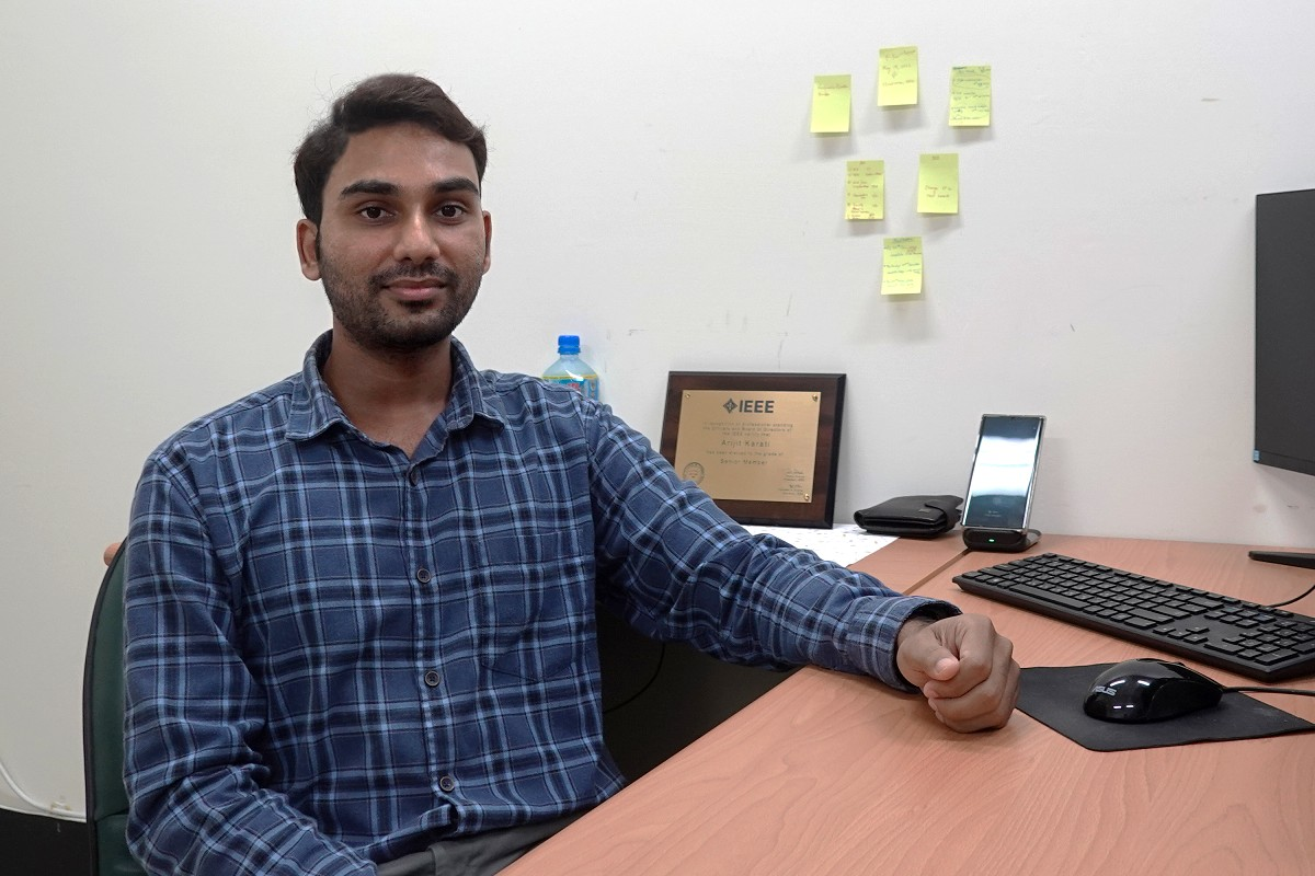 Assistant Professor Arijit Karati defends users' security and privacy with cryptographic algorithms