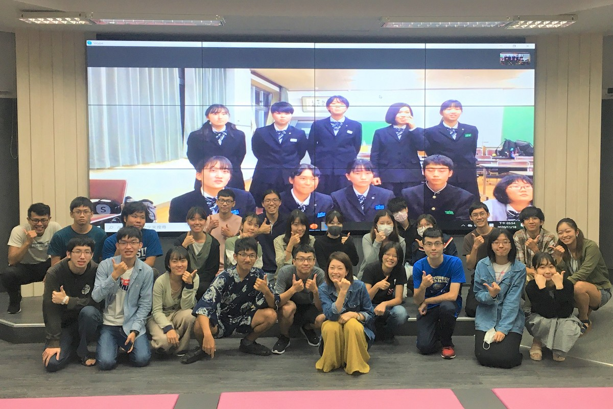 Students explore culture with Minamiuwa High School in Japan
