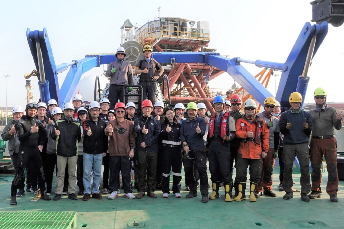 First open water test of MUV developed by NSYSU team successfully completed