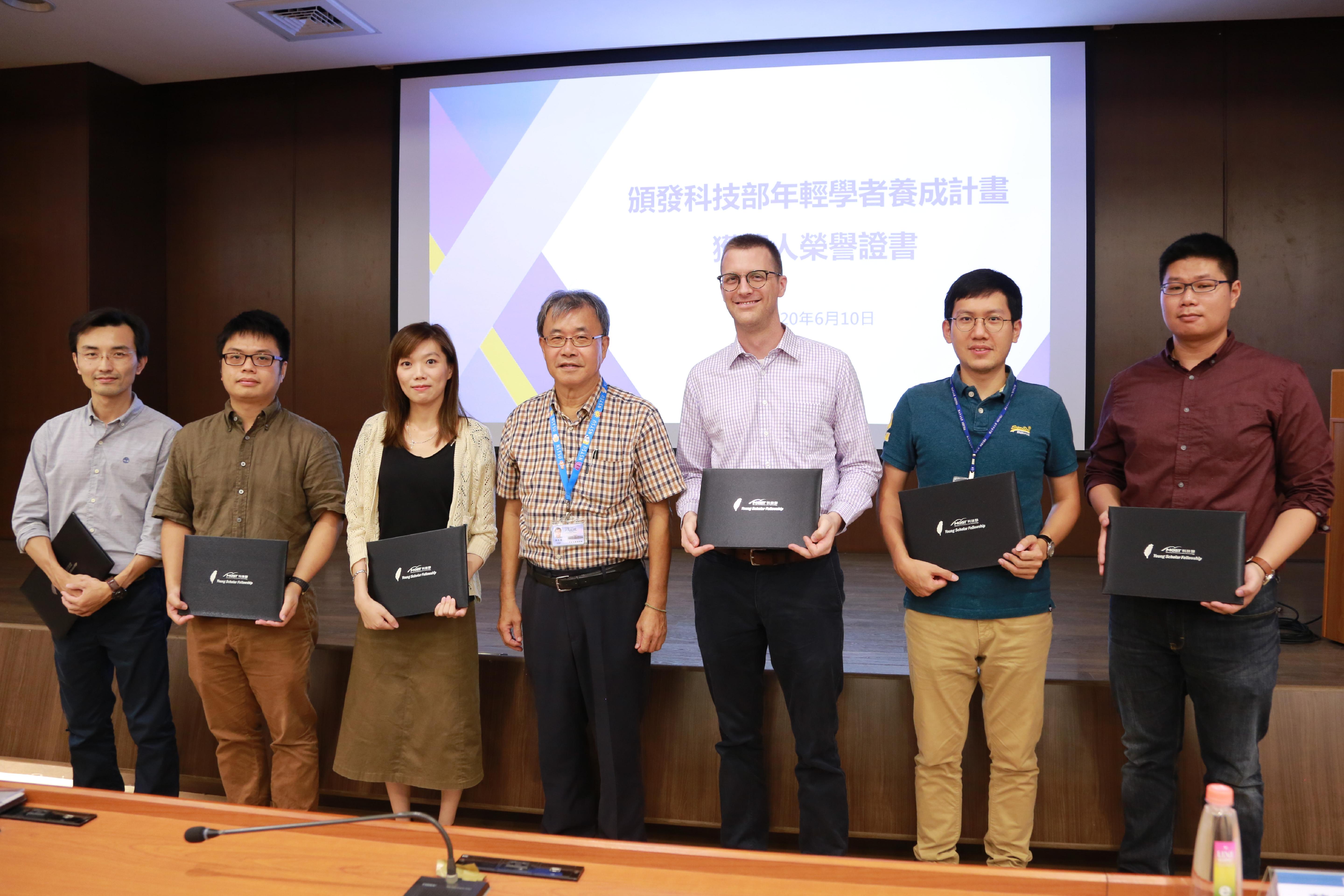 Six young scholars of NSYSU receive the Young Scholar Fellowship of the Ministry of Science and Technology