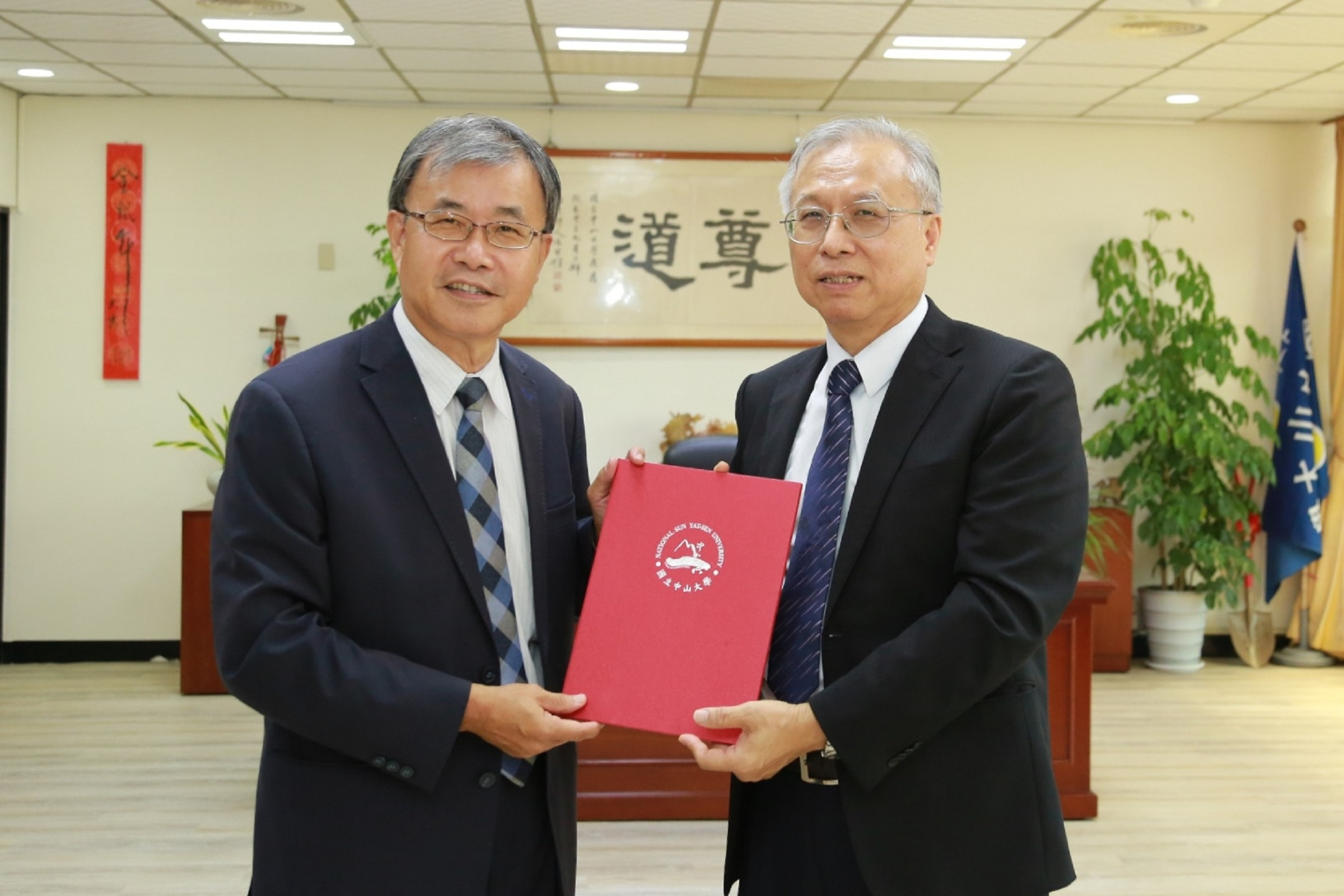 NSYSU employs former Vice Superintendent of the KGVH Shaw-Yeu Jeng as the Director of the Provisional Office of the NSYSU School of Post-Baccalaureate Medicine